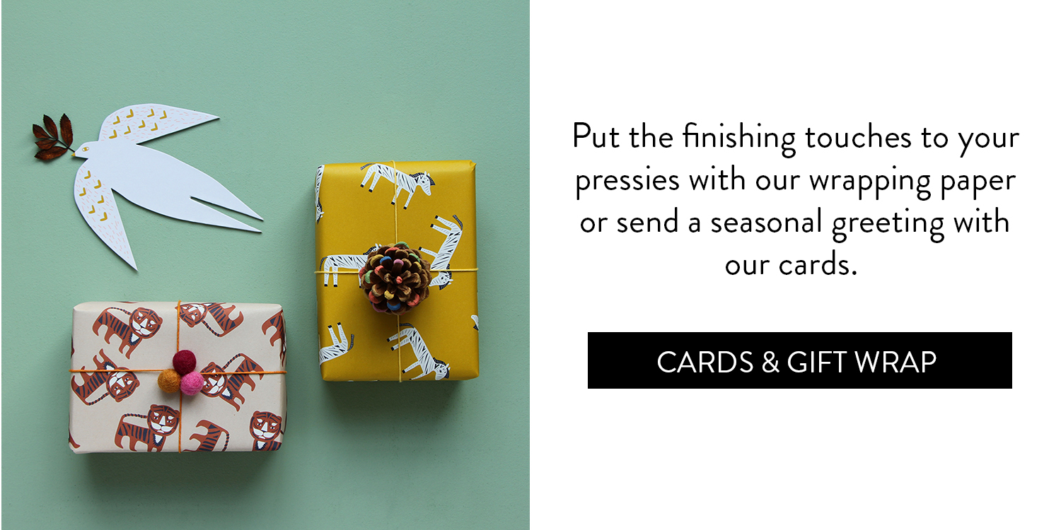 A Cosy Little Gift Guide - Cards & Gift Wrap