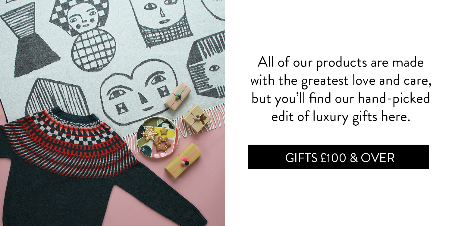 A Cosy Little Gift Guide - Gifts £100 & Over