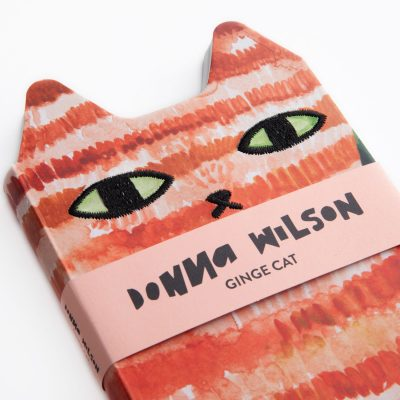 Donna Wilson - Ginge Cat Critter Journal
