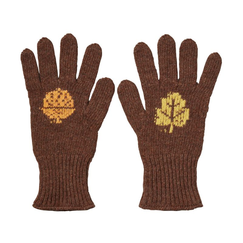 Donna Wilson - Acorn Gloves - Brown