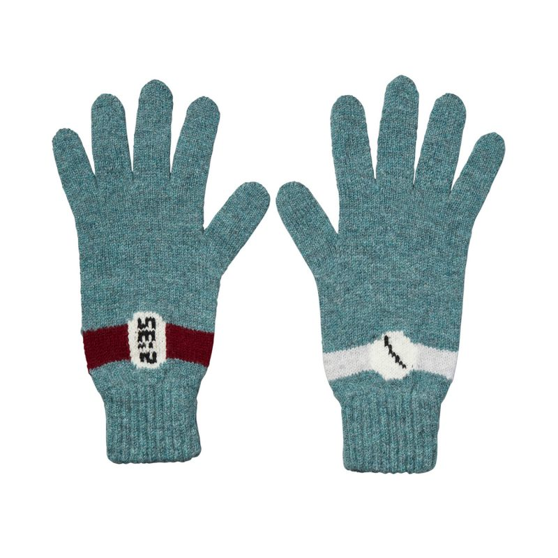 Donna Wilson - All The Time Gloves - Caspian