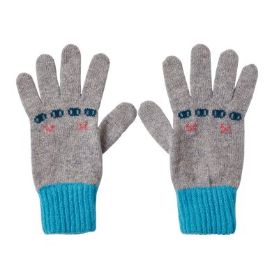 Donna Wilson Bunny Gloves Grey