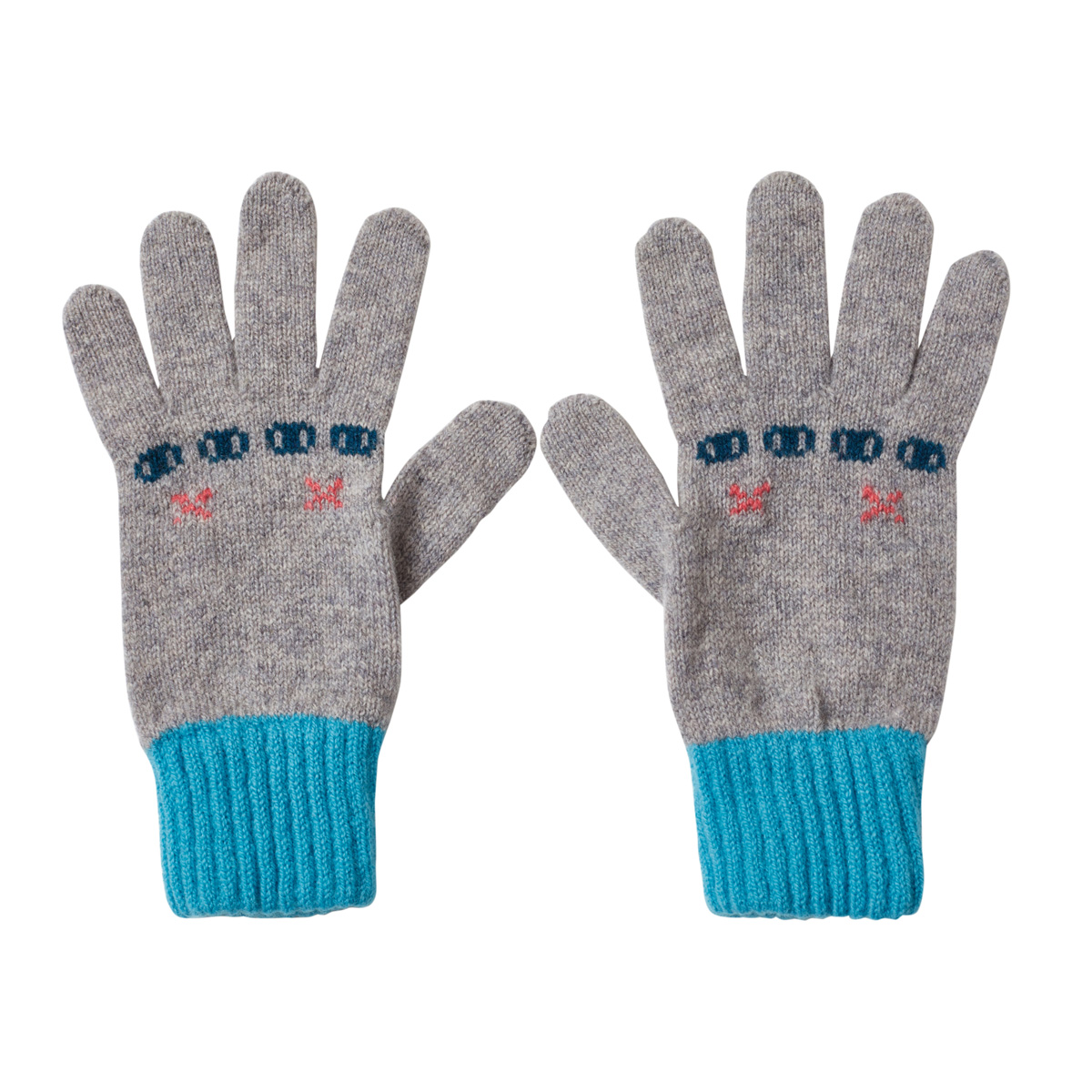 Donna Wilson Bunny Gloves Grey