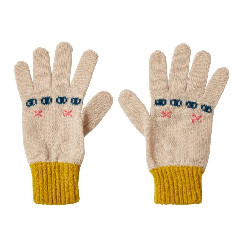 Donna Wilson Bunny Gloves Oatmeal
