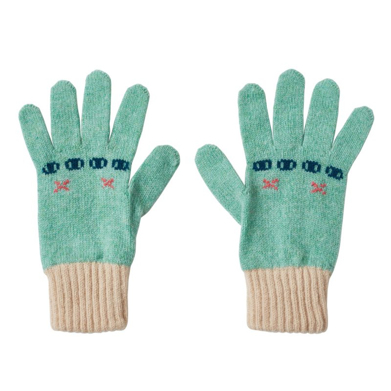 Donna Wilson Bunny Gloves Seagrass