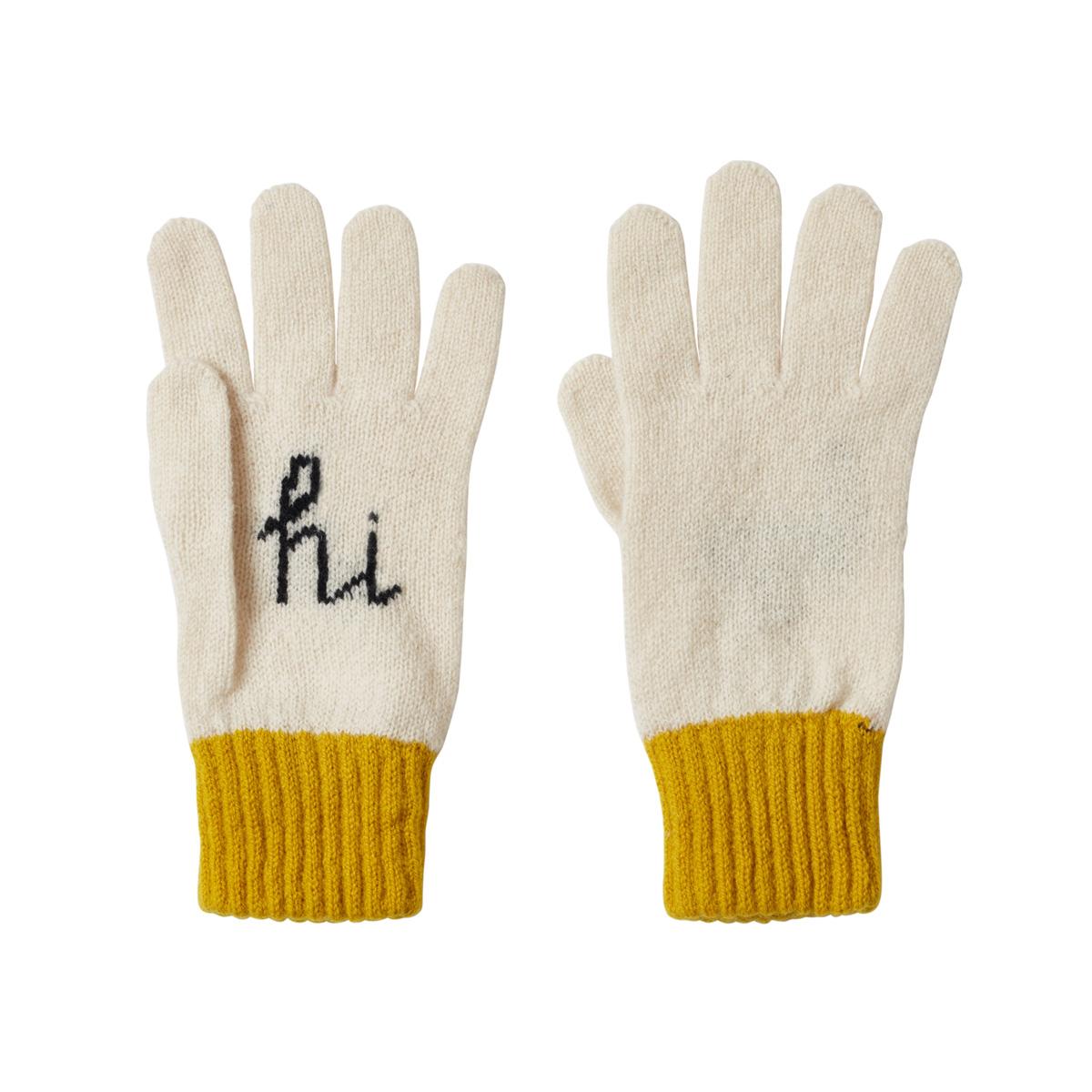 Donna Wilson Hi Bye Gloves Mustard Hi