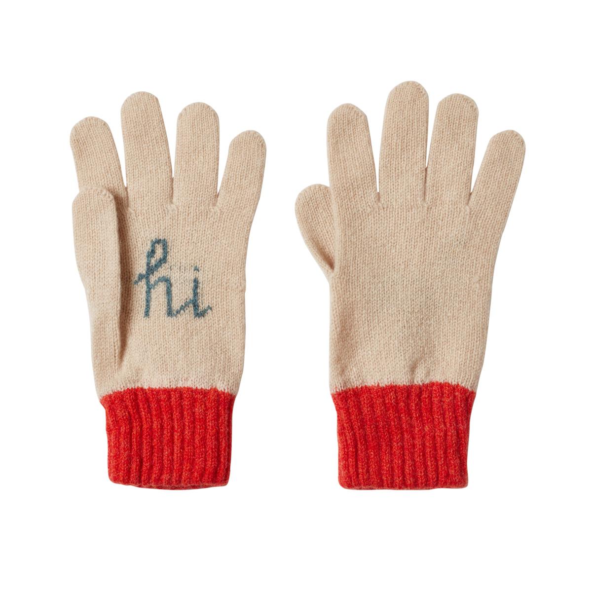 Donna Wilson Hi Bye Gloves Orange