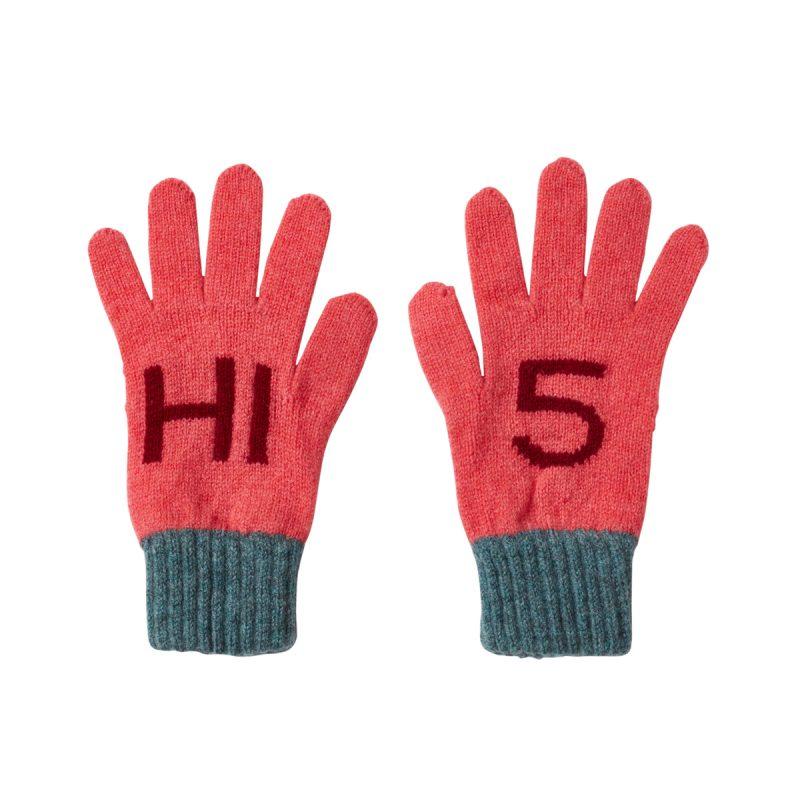 Donna Wilson Kids Hi5 Gloves Pink
