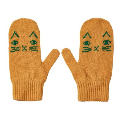 Donna Wilson Kids Mog Mitts Honey