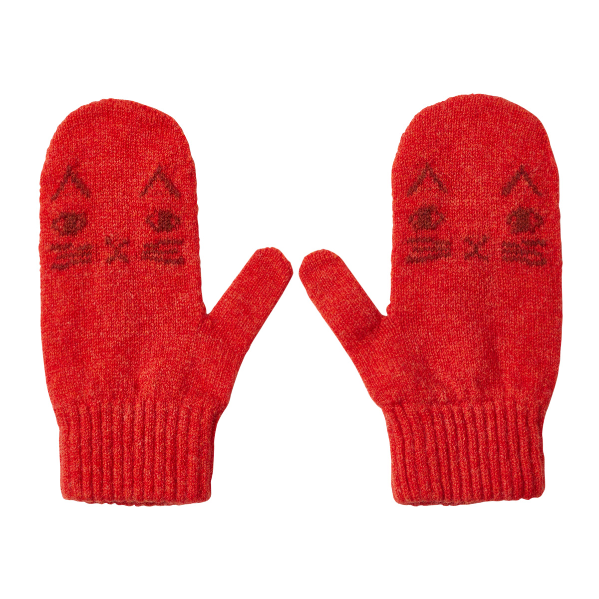 Donna Wilson Kids Mog Mittens Orange