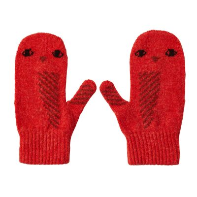 Donna Wilson - Owl Mittens - Orange