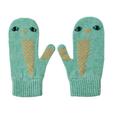 Donna Wilson - Owl Mitts - Seagrass