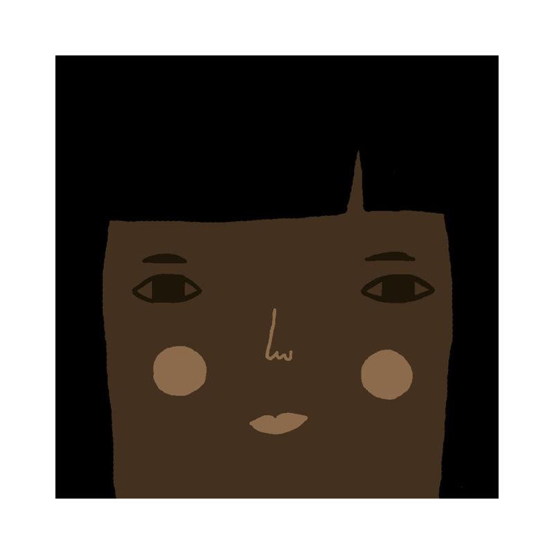 Grace Cushion - Deep Tone, Black Hair & Brown Eyes