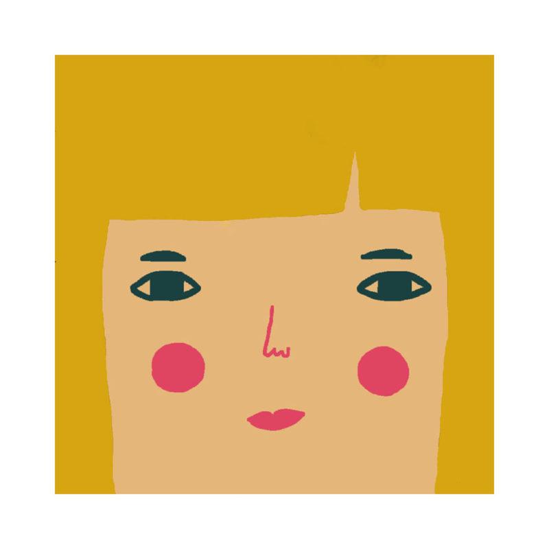 Grace Cushion - Light Tone, Blonde Hair & Blue Eyes