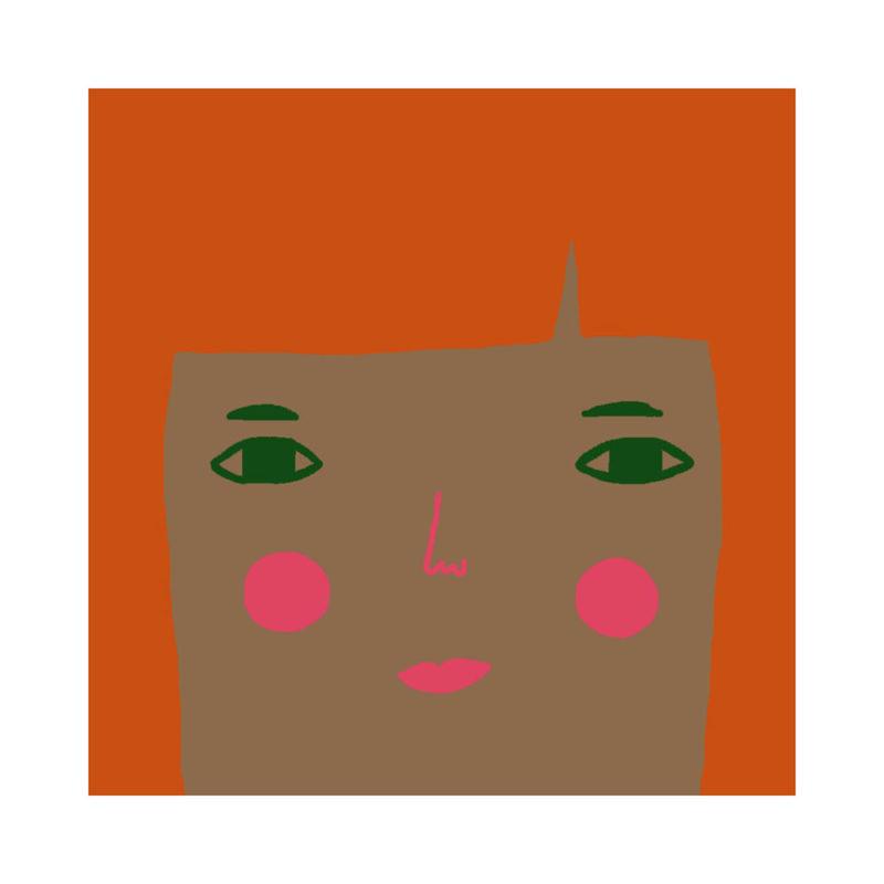 Grace Cushion - Mid Tone, Ginger Hair & Green Eyes