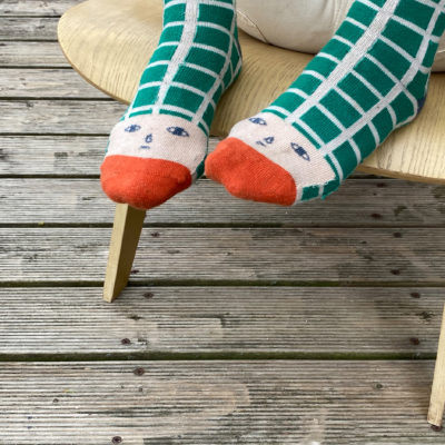 Happy Toes Socks - Donna Wilson