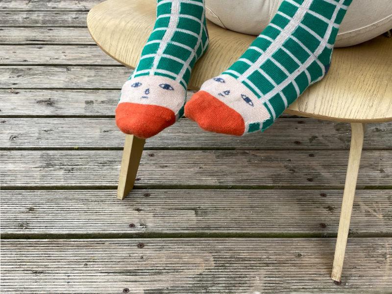 Happy Toes Socks - Donna Wilson