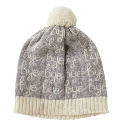 Donna Wilson Hi Bye Hat Grey Back