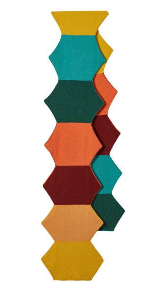 Hexagon Scarf - Multi - Donna Wilson