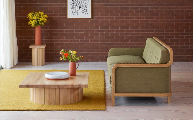 Purl Rug - Mustard by Donna Wilson for SCP