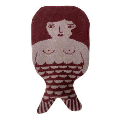 Hot Water Bottle - Mermaid Hot Water Bottle - Brown - Donna Wilson