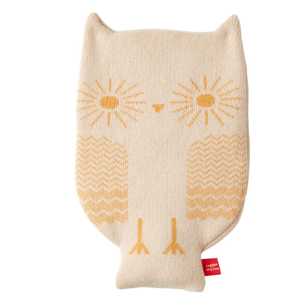 Donna Wilson Owl Hot Water Bottle Oatmeal
