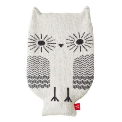 Donna Wilson Owl Hot Water Bottle White