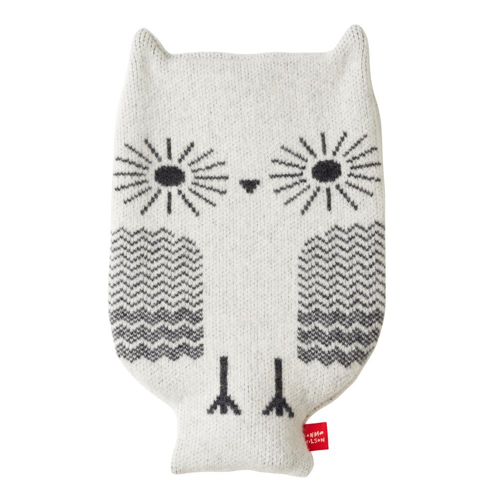 Donna Wilson Owl Hot Water Bottle White