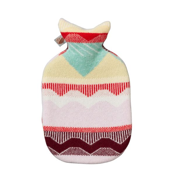 Circus Hot Water Bottle= Pink - Donna Wilson
