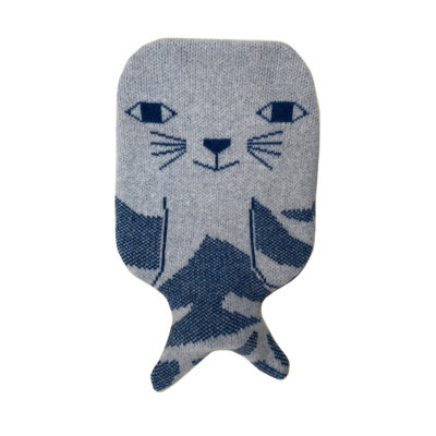 Hot Water Bottle - Seal Hot Water Bottle - Donna Wilson