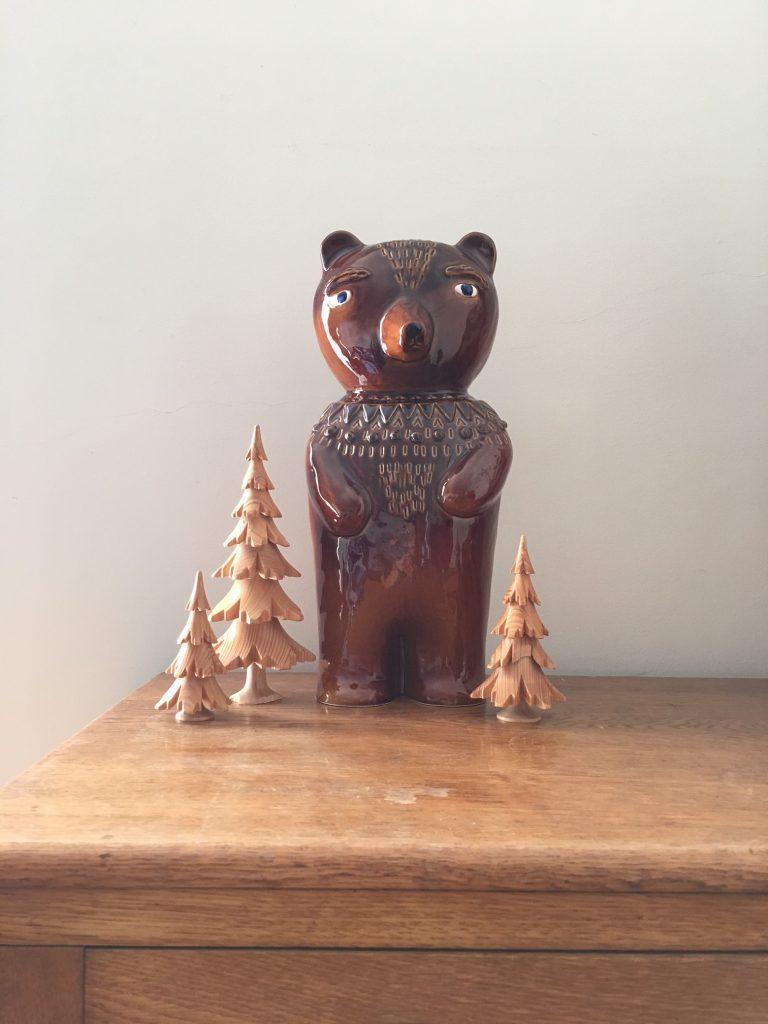 Donna Wilson Earthenware Bear SCP