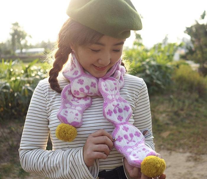 Donna Wilson x Mushroom - Russian Doll Scarf
