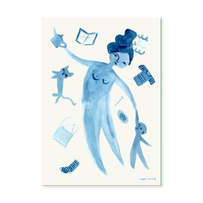 Donna Wilson - Juggling Motherhood Print