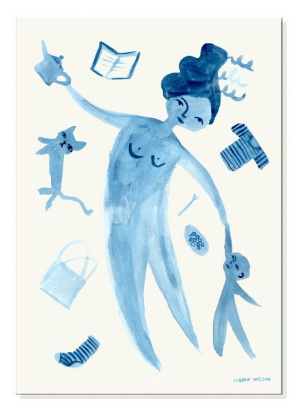 Donna Wilson - Juggling Motherhood Print