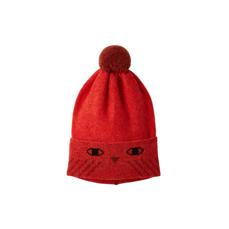 Donna Wilson - Kids' Owl Hat - Orange