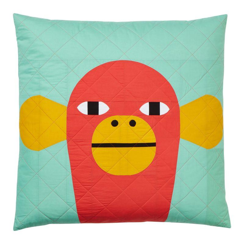 Charlie Monkey Quilted Cushion Kit - Donna Wilson x Papper, Sax, Sten