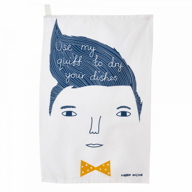 Kitchen - Tea Towel - Use My Quiff