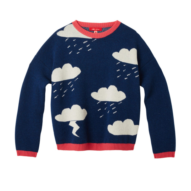 Donna Wilson Clouds Sweater Blue