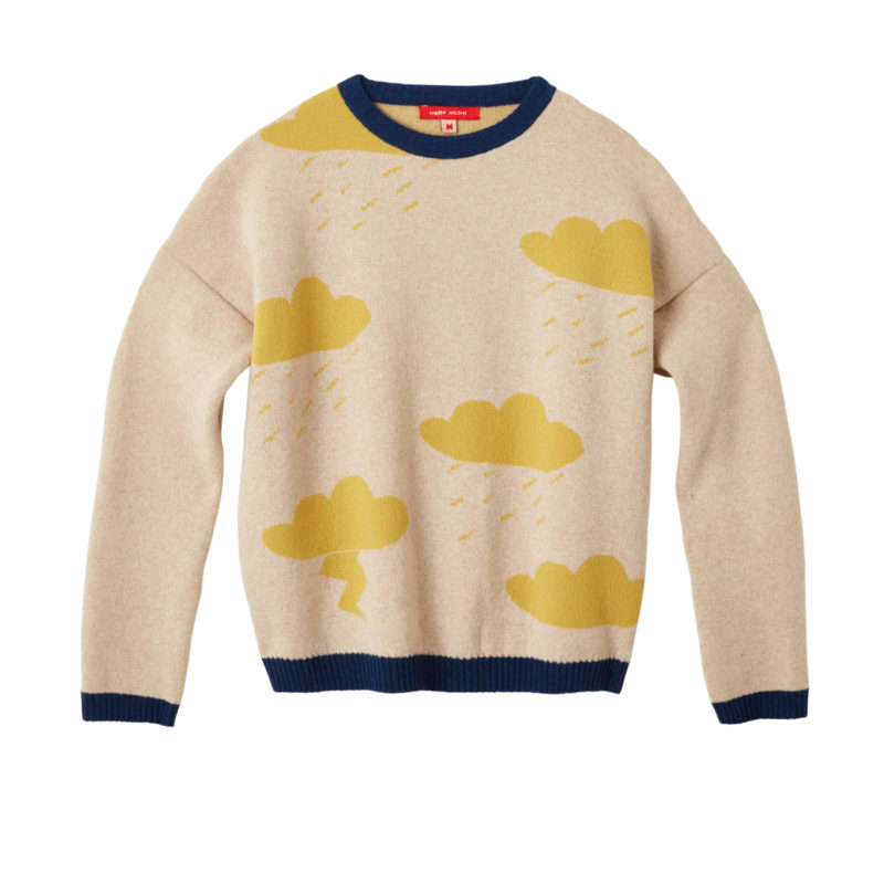 Donna Wilson Clouds Sweater Oatmeal