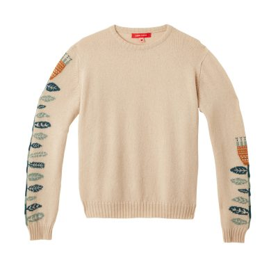 Donna Wilson Flower Sweater Oatmeal