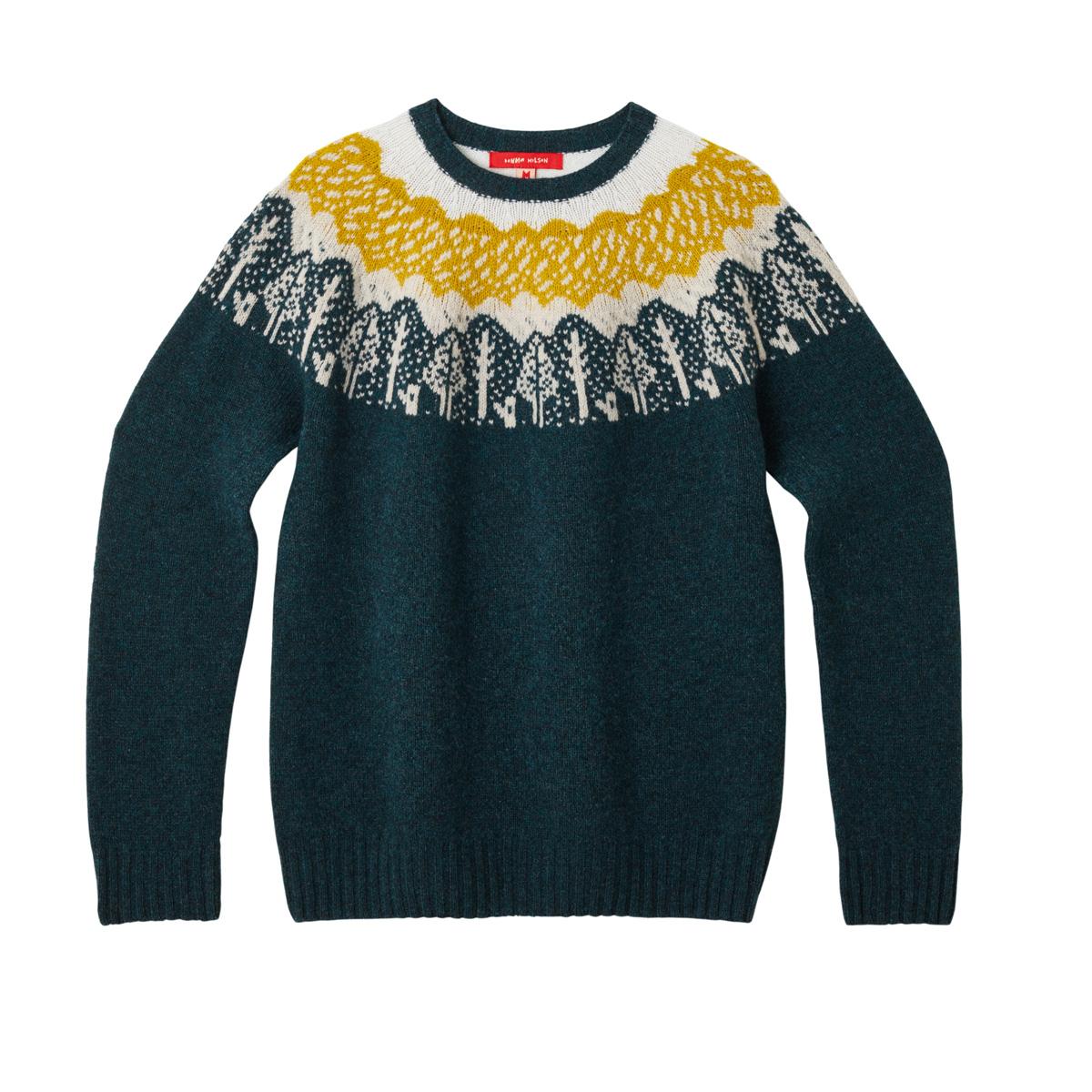 Donna Wilson Trees Sweater Slate