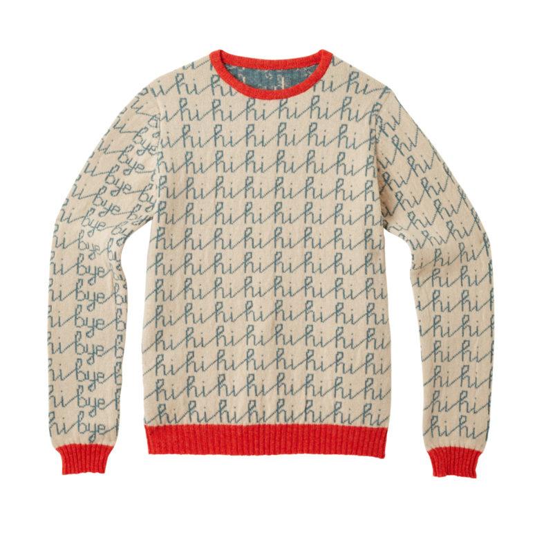 Donna Wilson Hi Bye Sweater Orange Front