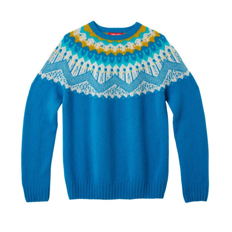 Donna Wilson Hofdi Sweater Peacock