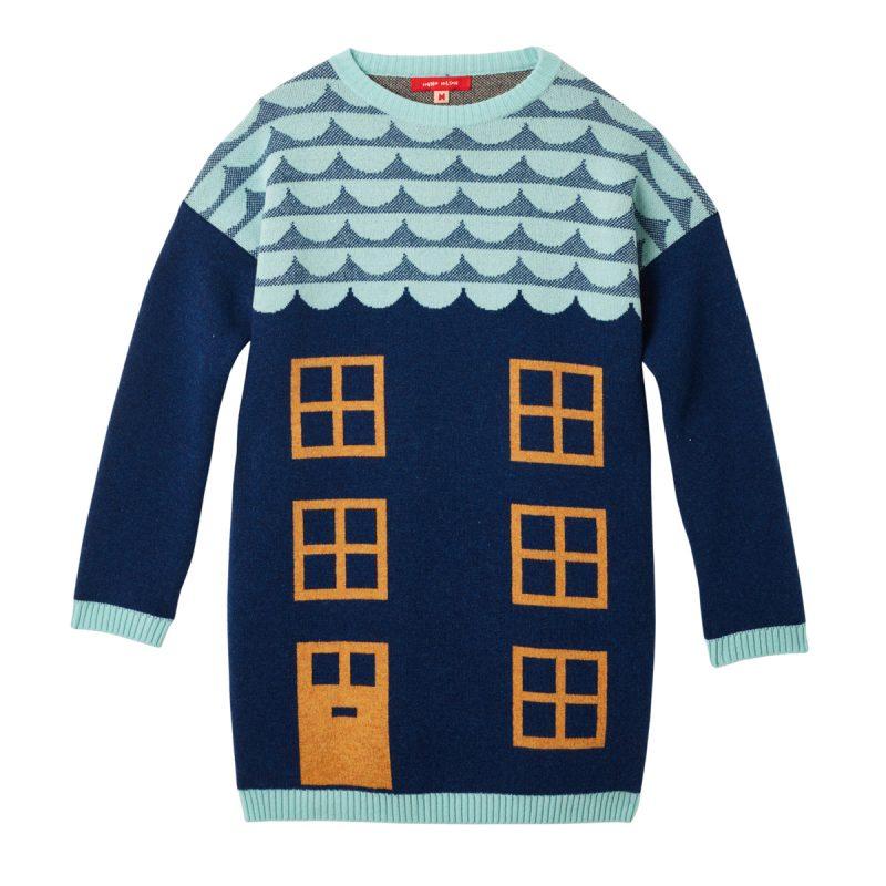 Donna Wilson House Long Sweater Blue