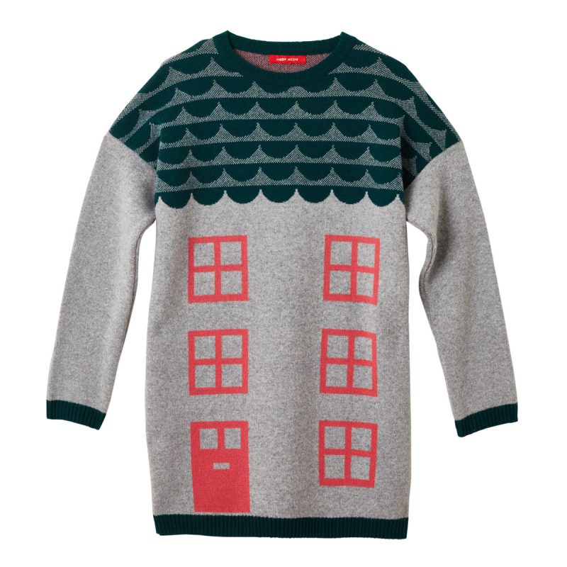 Donna Wilson House Sweater Grey