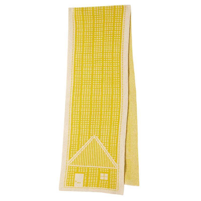 Donna Wilson House Scarf Beige Mustard