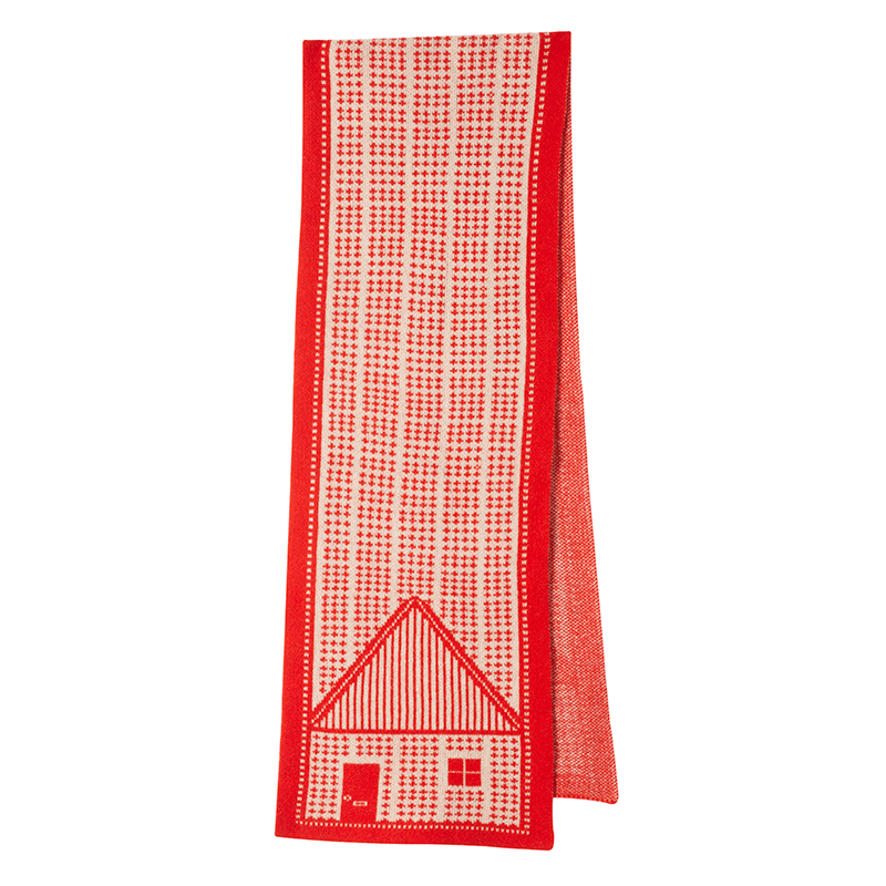 Donna Wilson House Scarf Red