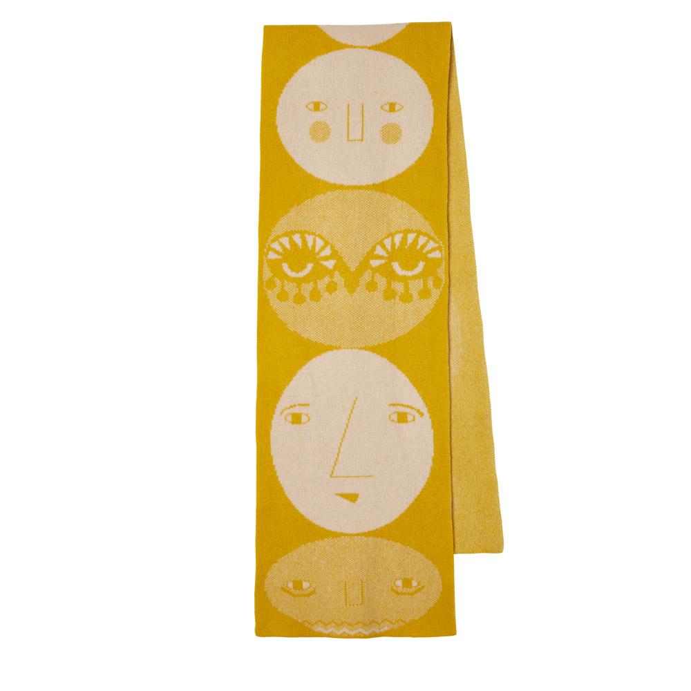 Donna Wilson Totem Scarf Mustard