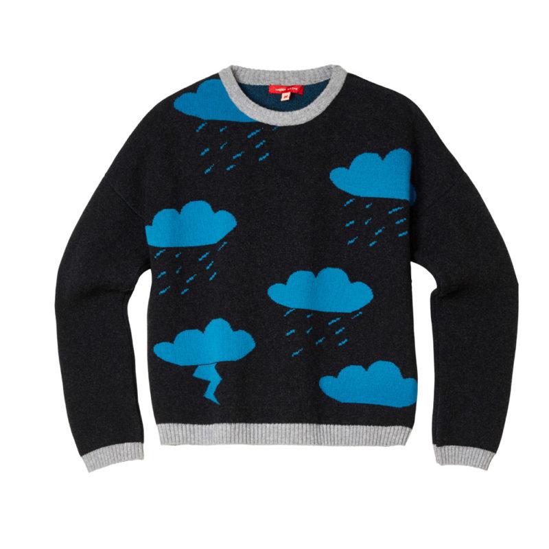 Donna Wilson Cloud Sweater Charocoal
