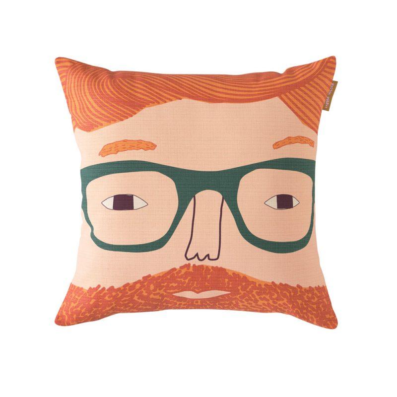 Donna Wilson - Ginger Man Cotton Cushion
